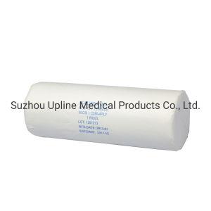 Rollo de gasa absorbente médicos Hospita usar ISO aprobado CE