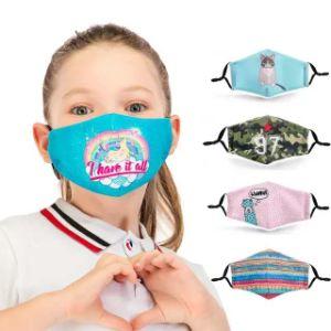 Purificateur d'air 3-Ply lavable en boucle de l'oreille personnalisés jetables de masques faciaux 3D à 3 couches de masque avec filtre