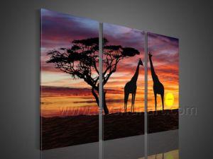 キャンバスの絵画(AR-151)の壁の装飾のアフリカの芸術