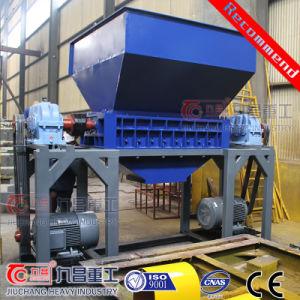 Reciclagem de plásticos Triturador de eixo duplo com ISO marcação