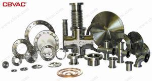 Вакуумный клапан угла поворота с помощью сильфонов / Ручной / вакуумный клапан/Kf фланцы с медных уплотнения капота