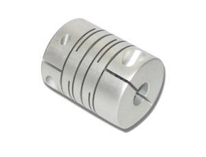 알루미늄 합금 병렬 연결 샤프트 연결 (죔쇠 유형, OD20 L25), 모터 인코더 연결