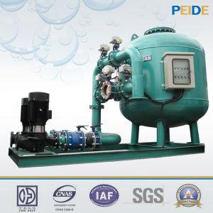 Filtro de arena medio bajo del agua de la materia textil de la fabricación de papel industrial de la farmacia