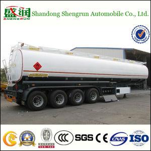 4半アクセル60bcbmの実用的な石油燃料タンクトレーラー