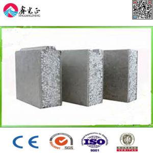 Poids léger taux élevé de ciment ignifugé Sandwich EPS Panneau mural