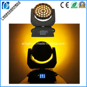 LED軽い36PCS*21W RGBW紫外線Pの移動ヘッド洗浄LED洪水ライト