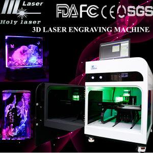 machine de gravure de laser en cristal du laser 3D Hsgp-2kc