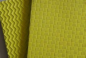 Dois Lados de folha de EVA padrão quadriculado de sandálias Flipflop e Piso Térreo
