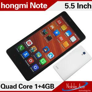 Nota 5.5Inch arroz Mtk6582 quad core Smartphone WCDMA 3G