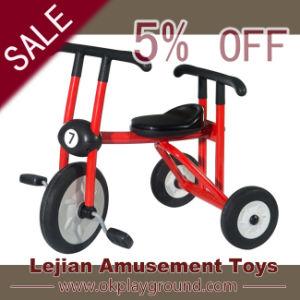 Rouge trois roues vélo pour les enfants de maternelle (J1502-6)