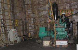 バックアップ240V/380V/400V木製のタービン力の割引価格の産業ガスの発電機