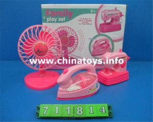 Venta caliente Bo plancha de plástico de juguete. La casa eléctrica (711814)