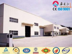 Edificio prefabricado para el almacén de la estructura de acero (SSWW-16066)