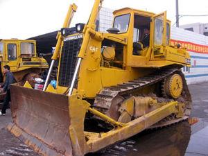 Bulldozer utilizzato del trattore a cingoli D6H nello stato eccellente (gatto D6H)