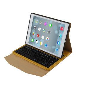 Het Draadloze Toetsenbord van Bluetooth voor het Geval van het Leer van de Lucht van Samsung iPad