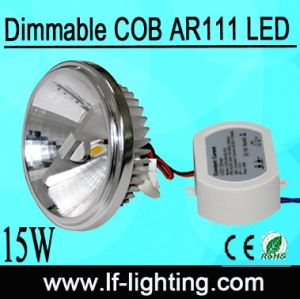 G53 15W AR111 Dimmable LED 230V Lamp 15 Degree (LF-G53015R)