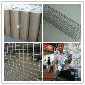 Acoplamiento de alambre soldado fábrica de Anping para la cerca