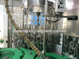 Embotellado Máquina de cristal, licor de cristal embotellado Maquinaria, vidrio alcohol de la botella máquina de envasado