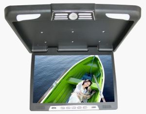 19 Inch Roof Mount Monitor with VGA, 24V, USB/SD, IR, FM Optional