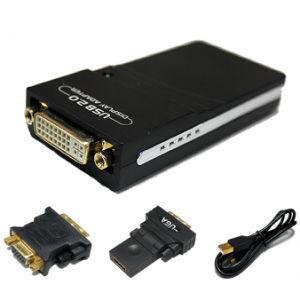 USB2.0 zu HDMI/zu DVI oder zu VGA Converter