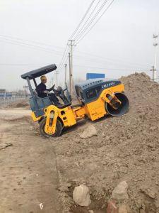 Китай Одновальцовый каток Вибрационный дорожный каток на заводе производство