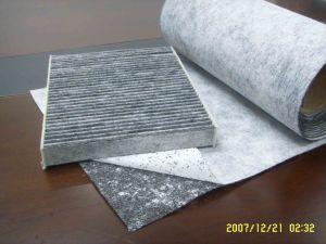Reinigung-nichtgewebtes betätigtes Kohlenstoff-Faser-Tuch