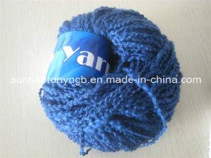 Lã Têxtil costume colorido fios acrílicos Boucle Mão Knitting extravagante