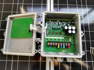 sistema di pompaggio solare centrifugo di irrigazione di CC di 2HP 1500W