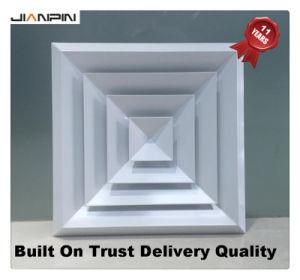 Límite máximo de 4 vías de alta calidad Difusor cuadrado