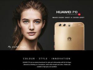 Slimme Telefoon Huawei P10 4G Lte Mobiele Telefoon Smartphone Cellulari