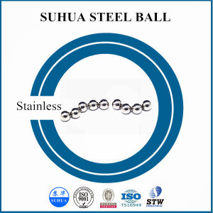 Bola de acero inoxidable AISI304. de diámetro 0.635mm