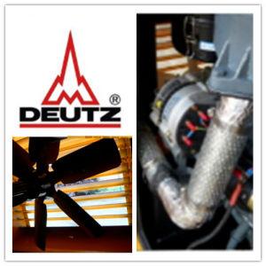 gruppo elettrogeno diesel elettrico insonorizzato raffreddato ad acqua di 118kVA Deutz