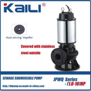 6' JYWQ auto-pompe submersible en remuant les eaux usées pour l'eau sale (JYWQ série)