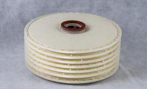 Alloggiamento lenticolare della cartuccia del filtro a dischi della multi della fase di alta qualità birra industriale dell'acciaio inossidabile