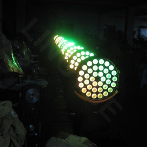 36PCS 18W RGBWAの紫外線6in1段階DMX移動ヘッドLED