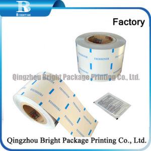 El papel de aluminio laminado de papel para el 70% de alcohol almohadilla Pre