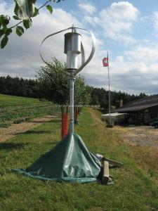 Постоянный магнит 1Квт вертикальной ветряной мельницы генератор (WKV-1000)