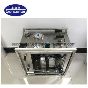 관과 호스를 위한 휴대용 Suncenter 스테인리스 공기 구동 유압 시험대