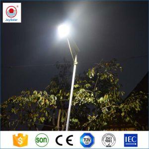 Precio mayorista de alimentación de alta protección IP65 12V 5W solar 8W 15W 22W 35W 50W 60W 80W 100W LED integrado calle la luz solar en una sola