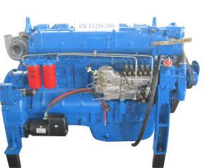 Moteur diesel de 256 KW avec l'embrayage pour la pompe