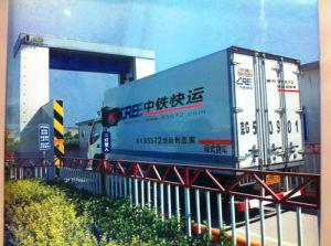 Système de Safeway - fixe et de conteneurs de fret Le Système de balayage du véhicule