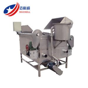 Krapfen-Imbiß, der Maschinen-Kartoffelchip-Chipslette-Bratpfanne-Maschine brät