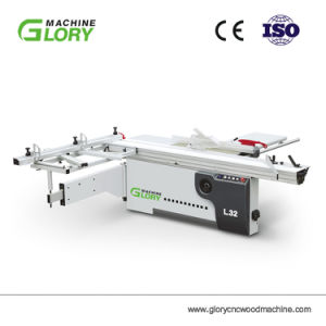 Alle sortieren hohe Präzision, die hölzerner schiebender Panel-Tisch Ausschnitt-Maschine mit Cer und ISO-Bescheinigung sah