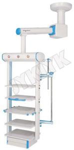 Uti Cirúrgica do Hospital do sistema de pendente do trilho com Dry-Wet separados