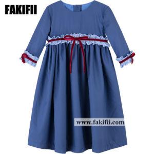 Bebé fábrica de prendas de vestir nuevo diseño de moda vestidos niña fiesta ropa de niños Los niños usa