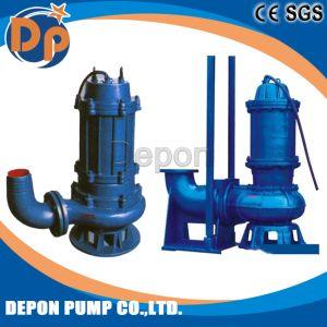 Edelstahl-Roheisen-versenkbare Abwasser-Wasser-Pumpe