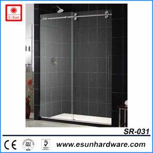 샤워실 (SR-031)를 미끄러지는 대중적인 디자인 스테인리스