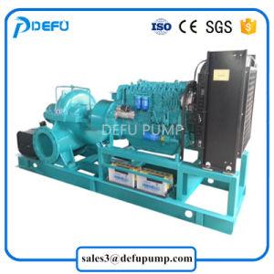 Aprovado pela CE Bipartida Diesel da bomba de água de irrigação de campo