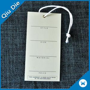 1000g Thichness papier carton avec du coton String label de cire