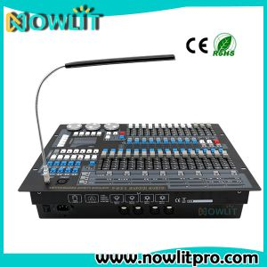 段階DJ軽いDMX512コンソール1024 DMXコントローラ